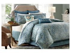 Complement The Clic Feel Of Your Master Bedroom With This Belcourt Comforter Set