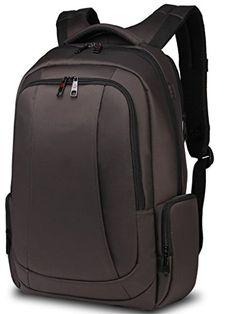6bfc09d30431 Uoobag KT01 Slim Laptop Backpack Waterproof Antitheft Bag 156 Dark Coffee   gt  gt  gt