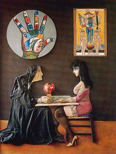 Ramona y la adivina (1976), de Antonio Berni