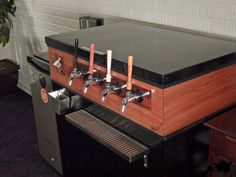 Four Tap Keezer (Kegerator) Project. Definitely going to need a keezer with at least 2-3 taps.