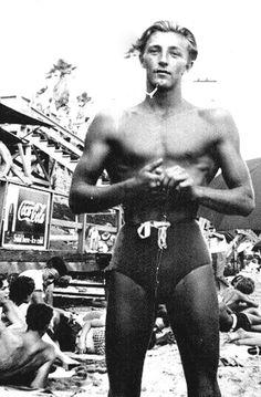 Robert Mitchum, lifeguard