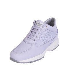 967d3211f HOGAN Leather Sneakers Size 38 UK 5 Partly Perforated Made in Italy RRP 200   fashion  clothing  shoes  accessories  womensshoes  athleticshoes (ebay  link)