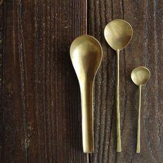 Lue/真鍮のカトラリー(curry spoon) - dieci|online shop