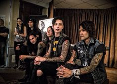 Black Veil Brides. Congrats to my favorite band ever on winning best Album at the APAMS 2015!!!