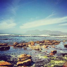visiting the seaside - St James, Cape Town,South Africa