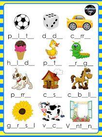 Spanish Lessons For Kids, Spanish Basics, Spanish Teaching Resources, Preschool Learning, Preschool Crafts, Abc Activities, Reading Centers, Kids Education, Origami Umbrella