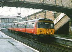 RailScot, a history of Railways with an emphasis on Scottish Railways. Photographs, maps, news, queries and more. Blue Train, British Rail, Old Trains, Diesel Locomotive, Glasgow, Burns, Scotland, Transportation, Empire