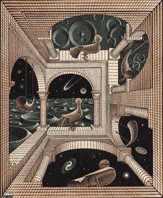 Anther World - M. C. Escher - 1947 Source: acidadebranca