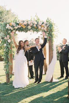 Photography : Carmen Santorelli   Wedding Dress : Mira Zwillinger   Venue : Rancho Valencia   Grooms Attire : Generation Tux   Wedding Planning : Amorology