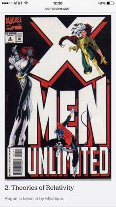 ✅ --X-men Unlimited #4 (taken in by Mystique)