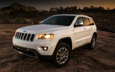 2014 Jeep Grand Cherokee White