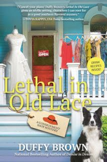The Book Connection...: Book Review: Lethal in Old Lace by Duffy Brown