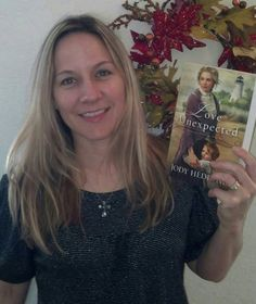 Look what Kerry Johnson is reading! :-) LOVE UNEXPECTED!
