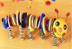 поделки из пуговиц для детей