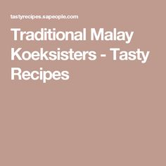 Traditional Malay Koeksisters - Tasty Recipes Carb Free Recipes, My Recipes, Cake Recipes, South African Recipes, Tasty, Yummy Food, Instant Yeast, Cake Flavors, Free Food