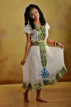 Luxury Ethiopian Traditional Clothes
