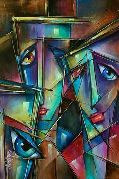 Trio Painting - Michael Lang ♥♥