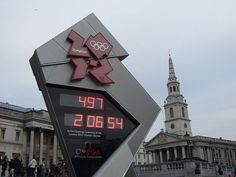 2012 Summer Olympics countdown clock.  They start on July 27, 2012 - Grant's 10th birthday!