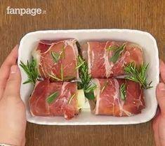 pollo e spek Italian Dinner Recipes, Best Italian Recipes, Supper Recipes, Meat Recipes, Chicken Recipes, Cooking Recipes, Healthy Recipes, Antipasto, Fish And Meat