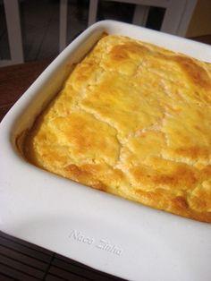 Suflê de cenoura » NacoZinha - Blog de culinária, gastronomia e flores - Gina