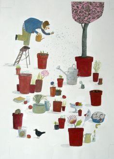Anne Herbauts   L'art à La Page