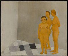 © Vlasta Vostřebalová Fischerová - Ženy v lázních (1925), Galerie výtvarného umění v Chebu