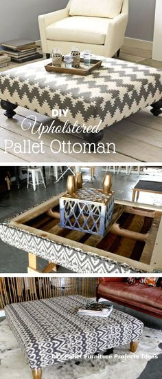 New DIY Pallet Projects and Ideas on a budget #pallet #diycrafts #palletideas