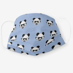 Panda Wearing Glasses - Cute Animal Cloth Face Mask Unique Gifts For Women, Wearing Glasses, Cute Panda, Christmas Gifts For Her, Snug Fit, Sensitive Skin, Cute Animals, Face Masks, How To Wear