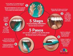 5 steps for good oral care