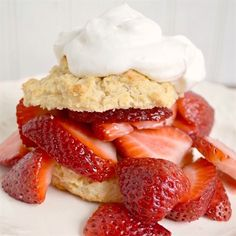 Make your own super easy crunchy drop biscuits for a strawberry shortcake that beats any store-bought version!