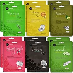Naturally Brighter Skin Tone - Authentic Korean facial masks, when used regularly they can help diminish signs of dark spots, pigmentation, circles, and puffiness. Korean Facial, Korean Face Mask, Face Facial, Facial Masks, Banana Face Mask, Collagen Facial, Bright Skin, L'oréal Paris, Paris France