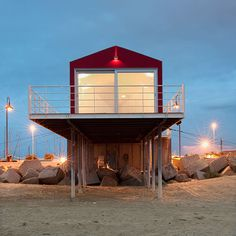 studio zero85 trabocco beach house pescara italy designboom