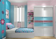 5 Stunning Blue Bedroom Ideas to Breathe New Life into Your Room Woman Bedroom, White Bedroom, Girls Bedroom, Living Room Colors, Bedroom Colors, Kids Room Bookshelves, Cute Bedroom Ideas, Bedroom Bed Design, Teenage Girl Bedrooms