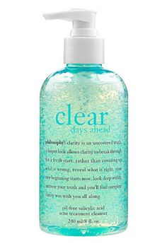 This works wonders and you get a large bottle for the price! Sephora: philosophy : Clear Days Ahead™ Oil-Free Salicylic Acid Acne Treatment Cleanser : face-wash-facial-cleanser Source by Acne Face Wash, Acne Skin, Acne Prone Skin, Skin Care Regimen, Skin Care Tips, Sephora, Best Acne Products, Beauty Products, Skin Products