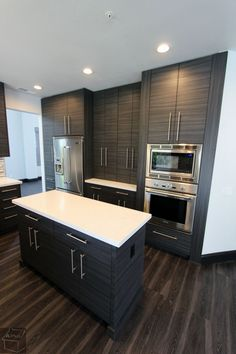 Kitchen Remodel With Modern Sophia Line Cabinets In The City Of San  Clemente, Orange County