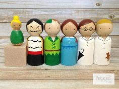 Peter Pan Peg Doll Set