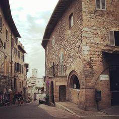 Assisi, Umbria, Italy.