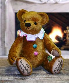 2014 Festival Bear 12183-9 by Hermann-Spielwaren GmbH at The Toy Shoppe