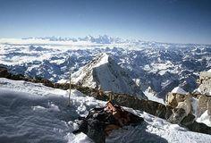 Himalaya  - Kanchenjunga Peak - Photo made by Polish famous climber Krzysztof Wielicki on the polish expedition with Jerzy Kukuczka