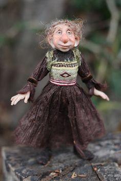 OOAK miniature artdoll 112th by Tatjana Raum by chopoli on Etsy,