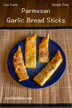 low carb garlic bread sticks recipe