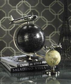 "Tribeca Globe And Plane, 13H x 10""DIA, BLACK by Home Decorators Collection, http://www.amazon.com/dp/B007RDQEFI/ref=cm_sw_r_pi_dp_Lj95pb11RT98G"