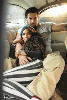 Did you know that Denise Huxtable and Khal Drogo are married in real life?  TOO MUCH GORGEOUSNESS AND AWESOMENESS.