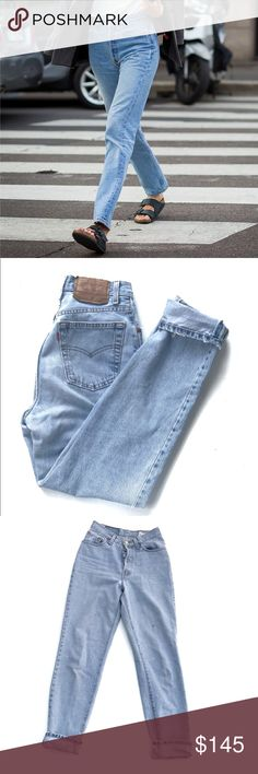 f9f6da8cf35 Vintage Levi 501 Super light wash vintage Levi These will be your everyday  staple jeans!