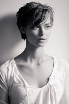 Long Pixie Haircut With Bangs Hairstyle And Haircuts For Women And Men Wallpaper