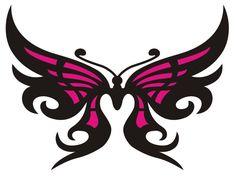 Logo, Tribal Butterfly by Rabbidgoose.deviantart.com on @deviantART