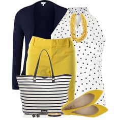 Yellow Bermuda Shorts and Flats by daiscat on Polyvore featuring MaxMara, INC International Concepts, Miss Sixty, Rebecca Minkoff and Kate Spade