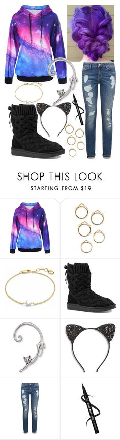 """Untitled #214"" by bhappygirlz ❤ liked on Polyvore featuring Missoma, UGG, Cara and Tommy Hilfiger"