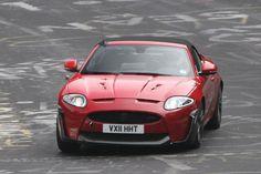 Jaguar разрабатывает кабриолет версию своего XKR-S 2012 года
