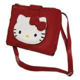 Unique Hello Kitty Mini Messenger Bag for iPad and iPad 2.  Valentine Day Gift for Girls